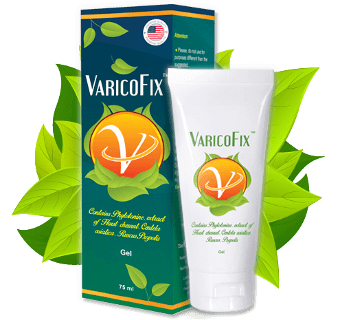Varicofix - Gel para tratamento de Varizes
