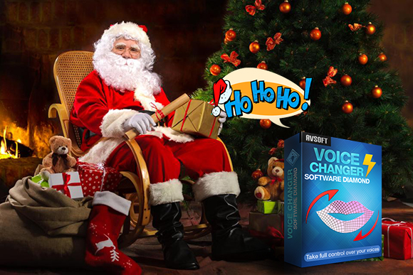 mimic santa voice with Santa Claus voice changer