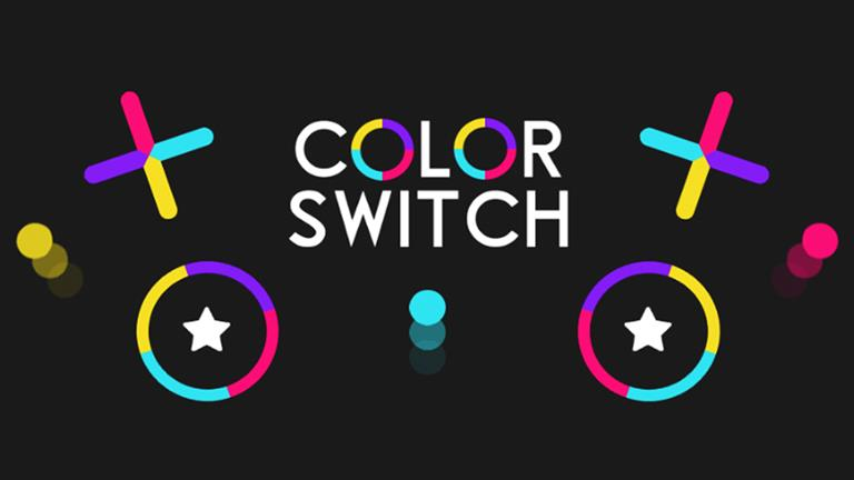 color switch لعبة