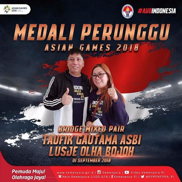 Daftar Nama Atlet Indonesia Peraih Medali Emas, Perak dan Perunggu Asian Games 2018