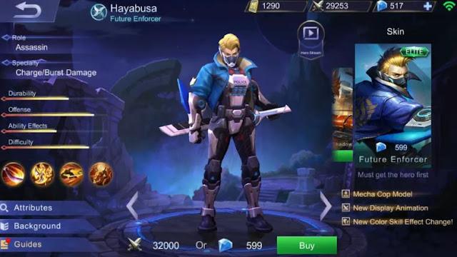Build Item Gear dan Emblem Set Hayabusa Terbaik di Mobile Legends  Build Item Gear dan Emblem Set Hayabusa Terbaik di Mobile Legends