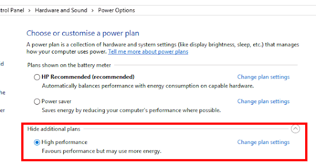 Adjust Your Computer's Power Settings