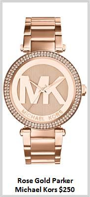 Sydney Fashion Hunter - Timeless Timepieces - Michael Kors Rose Gold Parker Watch