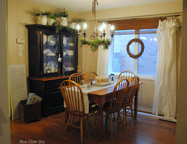12 Rustic Dining Room Ideas: Rustic Maple: Christmas 2012 -Our Home Tour