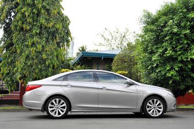 Eksterior Hyundai Sonata YF