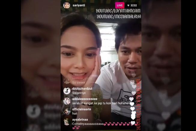 Sari Yanti Cakap 'i Love You' Kat Jep Sepahtu (video)