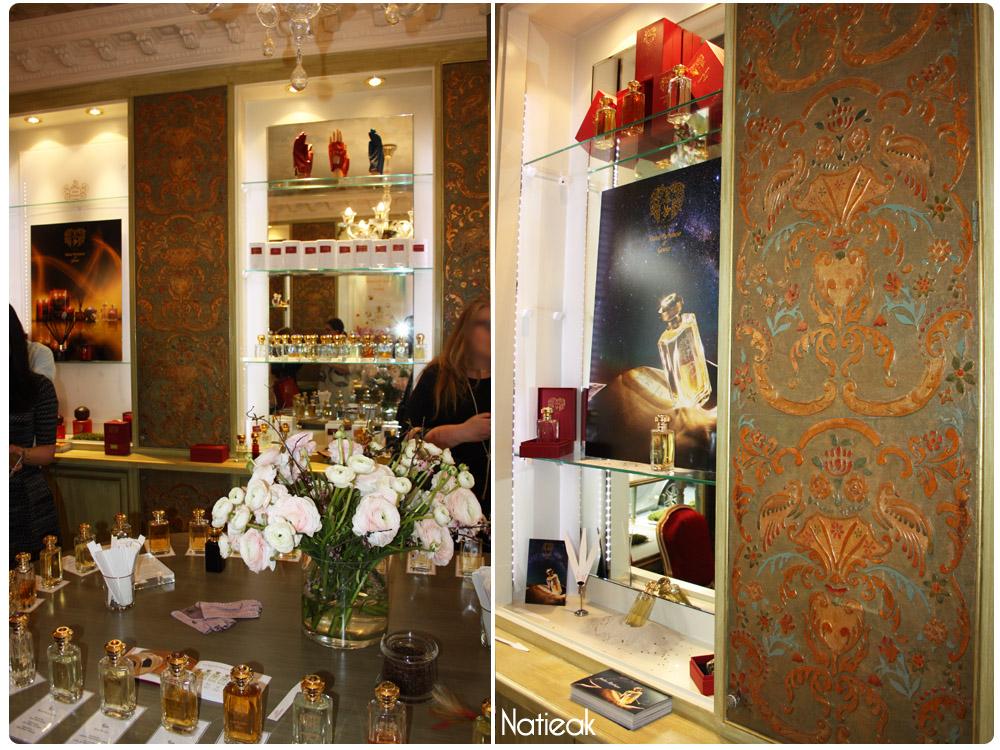 Boutique parisienne Maître Parfumeur et Gantier