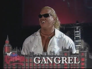 WWE / WWF Capital Carnage 1998 - Gangrel faced Al Snow