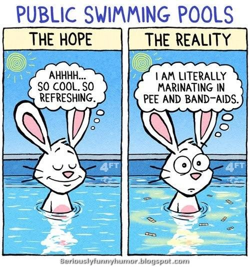 Public Swimming Pools - The Hope vs The Reality