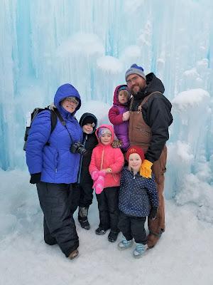 Twin Cities Family Winter Weekend Getaway - Ice Castles