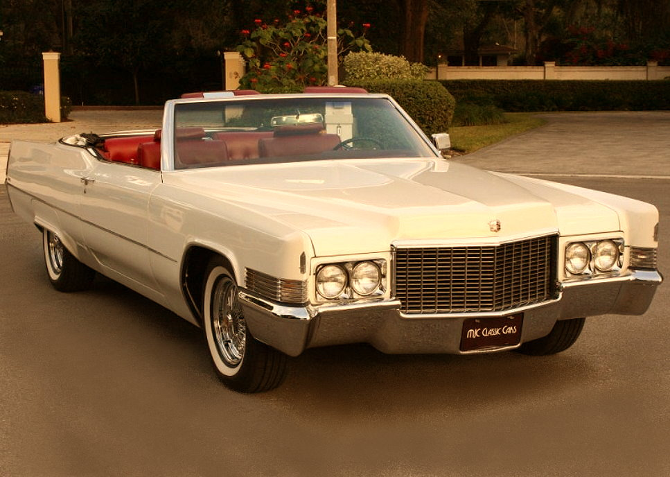 Luxury Muscle Car 1970 Cadillac Coupe Deville Convertible