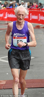 Ed Whitlock the 85 year old record breaking marathon runner