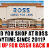 DID YOU SHOP AT ROSS STORES IN THE PAST 8 YEARS? Sign Up For Ross Stores Class Action Settlement and Get Cash Back or Gift Cards back on your purchases