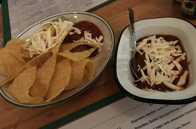 Mamasita, Melbourne, corn chips and salsa