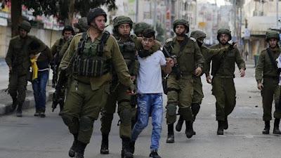 Israel deteve os palestinos na Judeia  e  Jerusalém