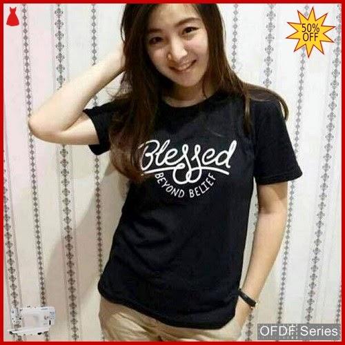 OFDF127 Atasan Kaos Blessed Beyond Belief 272 BMGShop