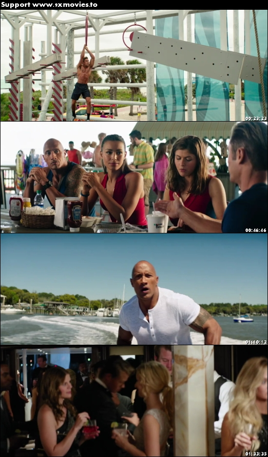 Baywatch 2017 Dual Audio ORG Hindi 720p BluRay 1GB