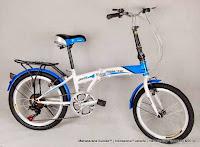 Sepeda Lipat Trinx 20-614 HighWind 6 Speed 20 Inci