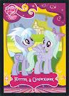 My Little Pony Flitter & Cloudchaser Series 2 Trading Card