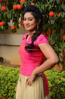 Ashmita in Pink Top At Om Namo Venkatesaya Press MeetAt Om Namo Venkatesaya Press Meet (1).JPG