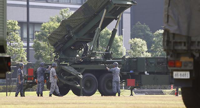 O PAC-3 será montado em uma base do exército na ilha de Hokkaido, no norte do Japão