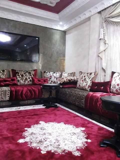 les salons marocains 2019 modernes images - decorationmarocains