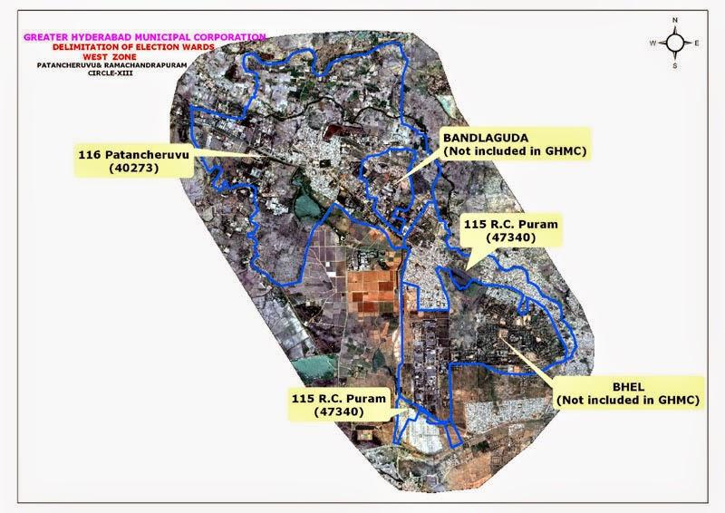 GHMC Circle 13 Map