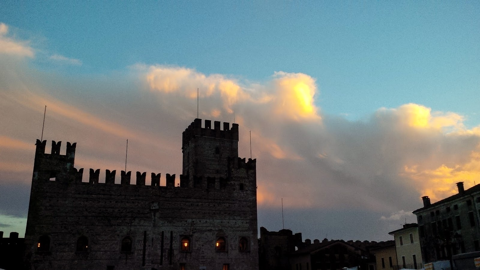 The Lower Castle in Marostica