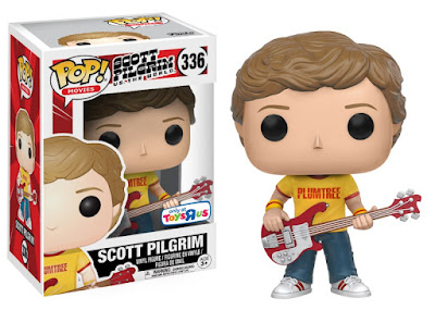 "San Diego Comic-Con 2017 Exclusive ""Plumtree Tee"" Scott Pilgrim Pop! Vinyl Figure by Funko x Toys R Us"