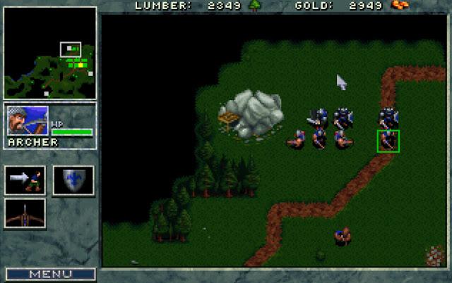 Warcraft 1 Small Defense Screenshot