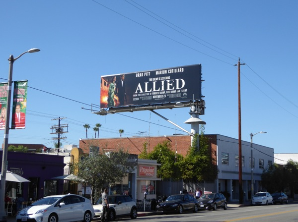 Allied film billboard