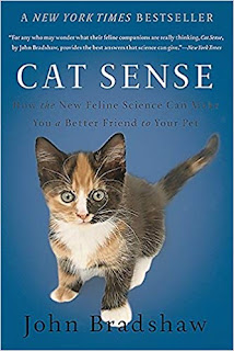 Cat Sense, this  month's choice for the Companion Animal Psychology book club