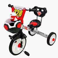 royal ry3288n nikel sepeda roda tiga