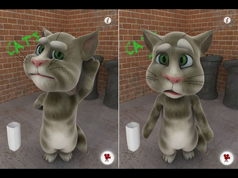 talking tom symbian nokia 5230