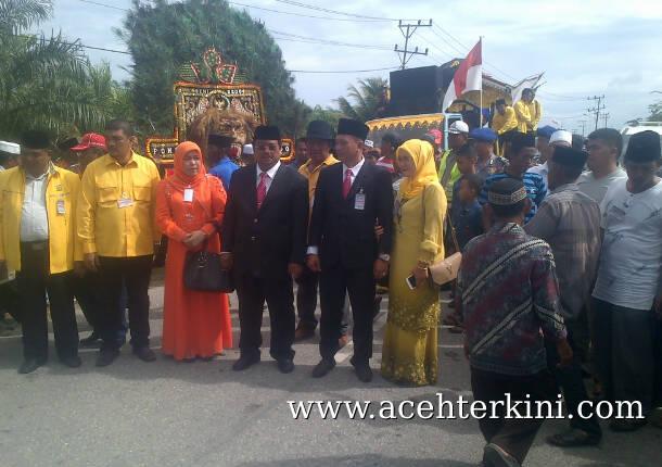 Petahana Aceh Singkil Daftar Pilkada