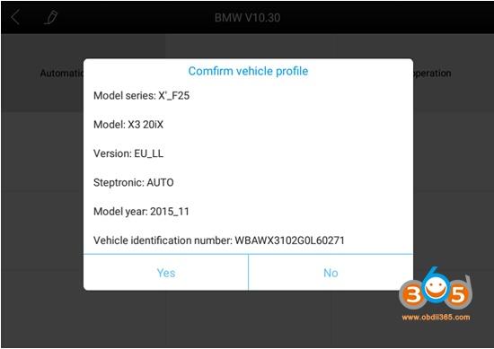 XTOOL-A80-BT-диагностика-BMW-x3-4