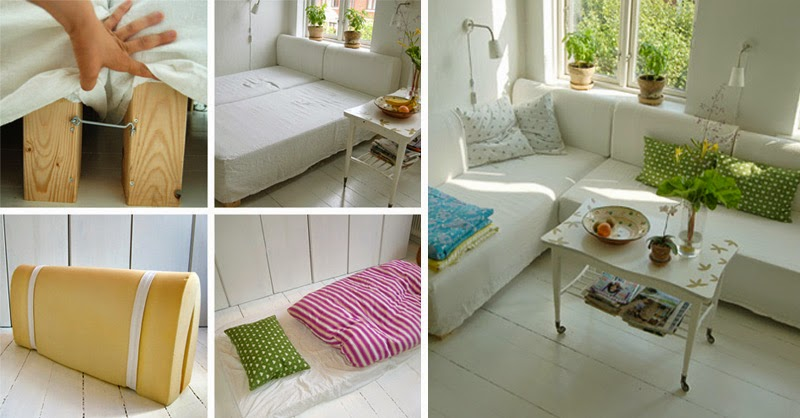 Mi rinc n de sue os small lowcost ideas para hacer un sofa for Ideas para decorar camas