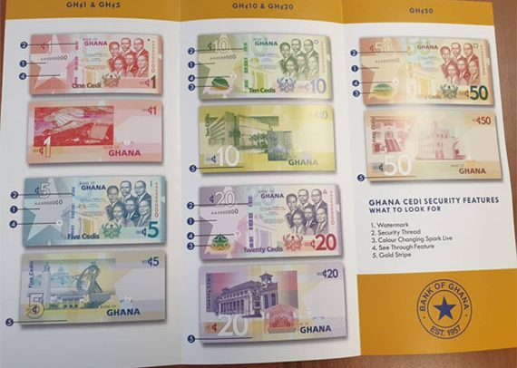 Bank of Ghana To Print Upgraded Cedi Notes In May