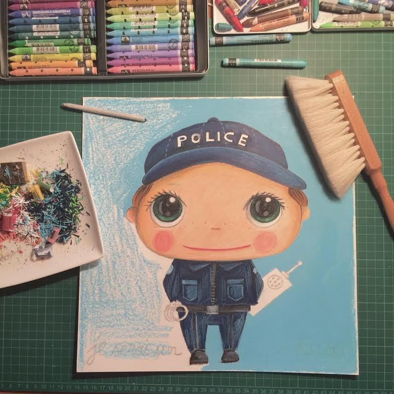 quand je serai grand je serai gendarme
