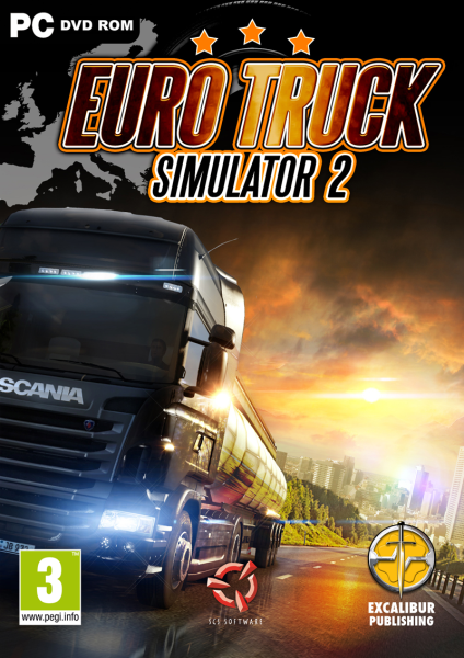 Euro Truck Simulator 2 Beyond the Baltic Sea (2DVD) WIYKOM
