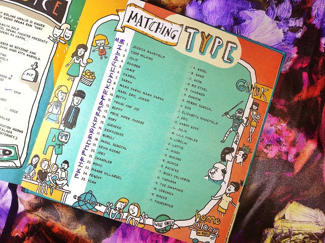 Tita Witty Planner 2018 Answers to Matching Type