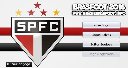 Skin do São Paulo Futebol Clube para Brasfoot 2016