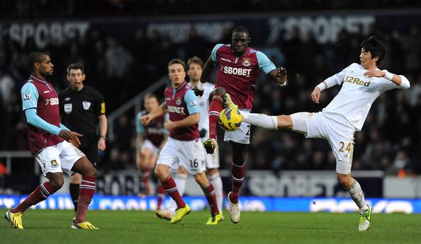 Swansea City vs West Ham United