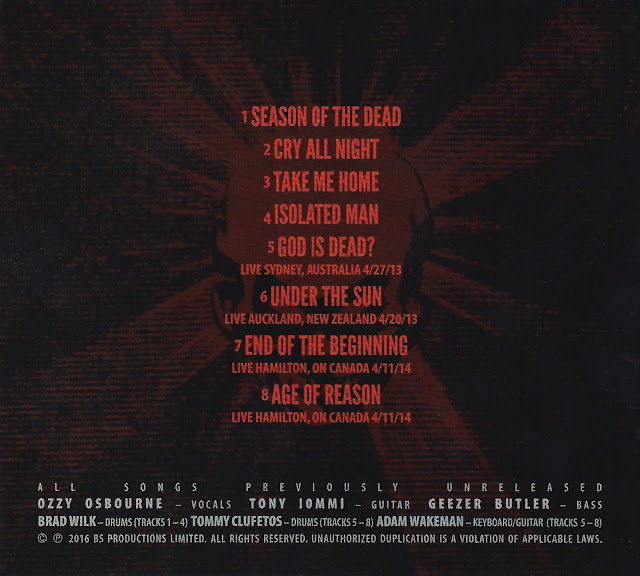 black sabbath - the end limited edition tour cd