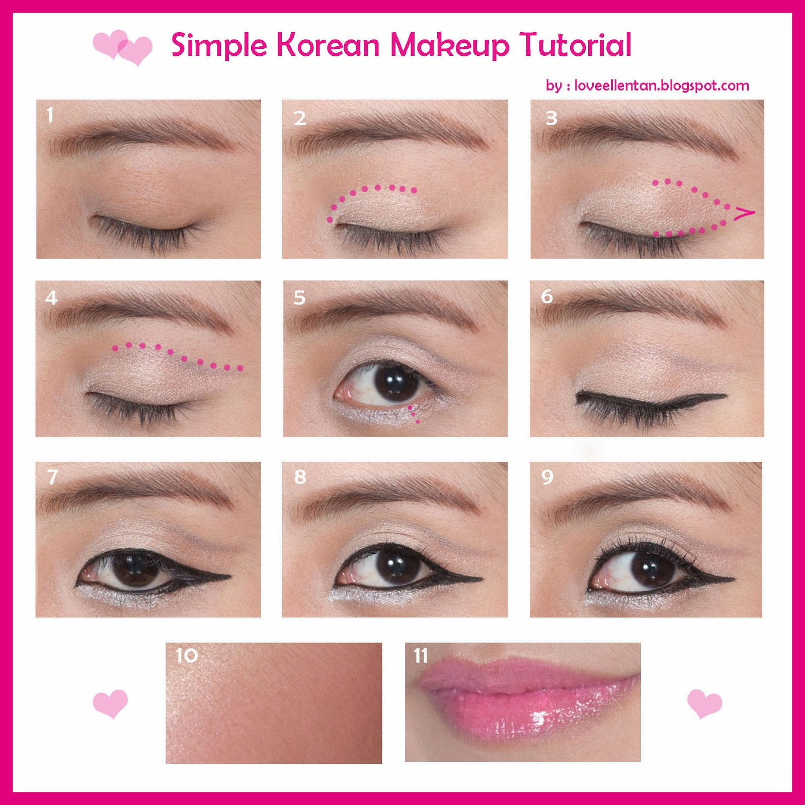 Korean Fresh Makeup Tutorial