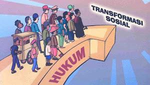 Hukum Sebagai Sarana Perubahan Dan Pembangunan