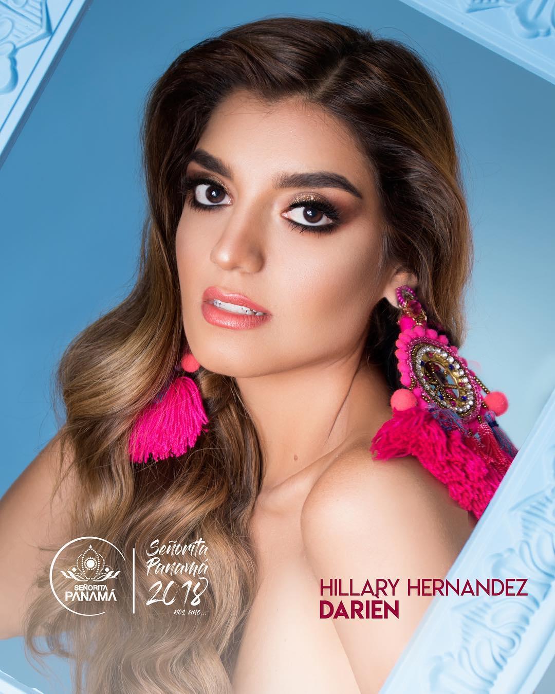 señorita miss colombia 2018 candidates candidatas contestants delegates Miss Darién Hillary Hernández