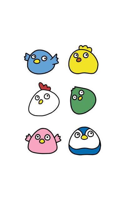 Cute Round Bird