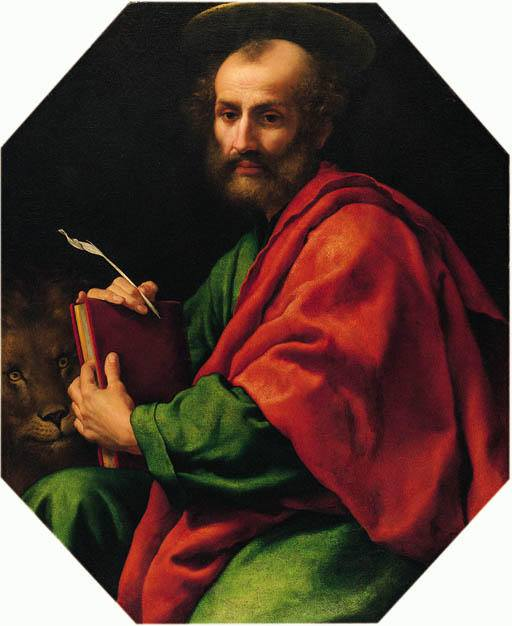 APRIL 25 - SAINT MARK, EVANGELIST