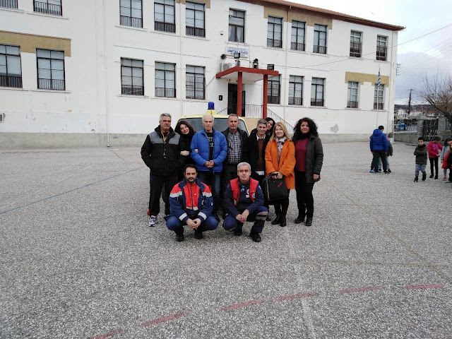Νέο Σούλι: Οι μαθητές ενημερώθηκαν από το ΕΚΑΒ Σερρών για τις πρώτες βοήθειες